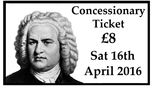 Concessionary Concert Ticket (8th April 2017)