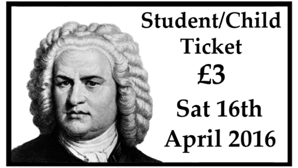 Student/Child Concert Ticket