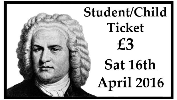 Student/Child Concert Ticket (8th April 2017)