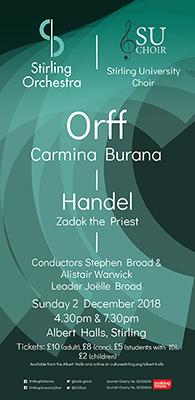 Poster of 2nd December Concert