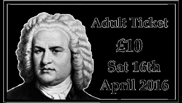 Adult Concert Ticket
