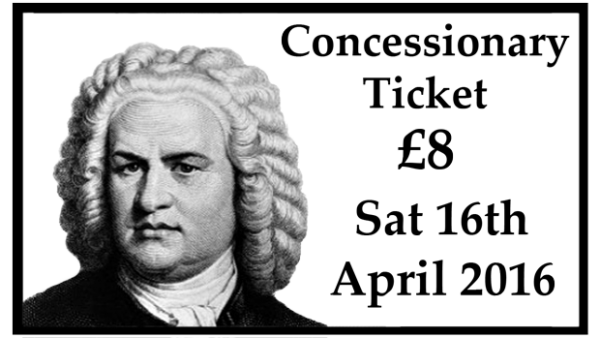 Concessionary Concert Ticket