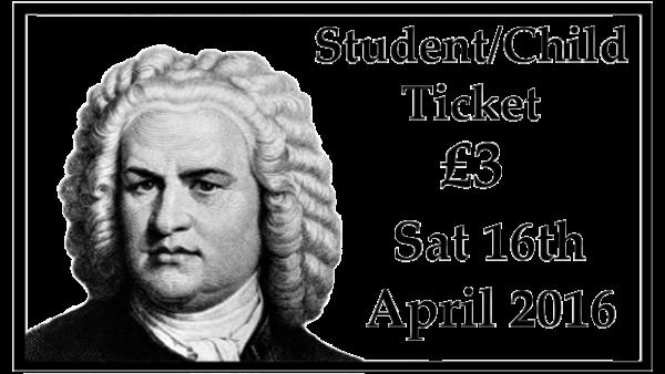 Student/Child Concert Ticket