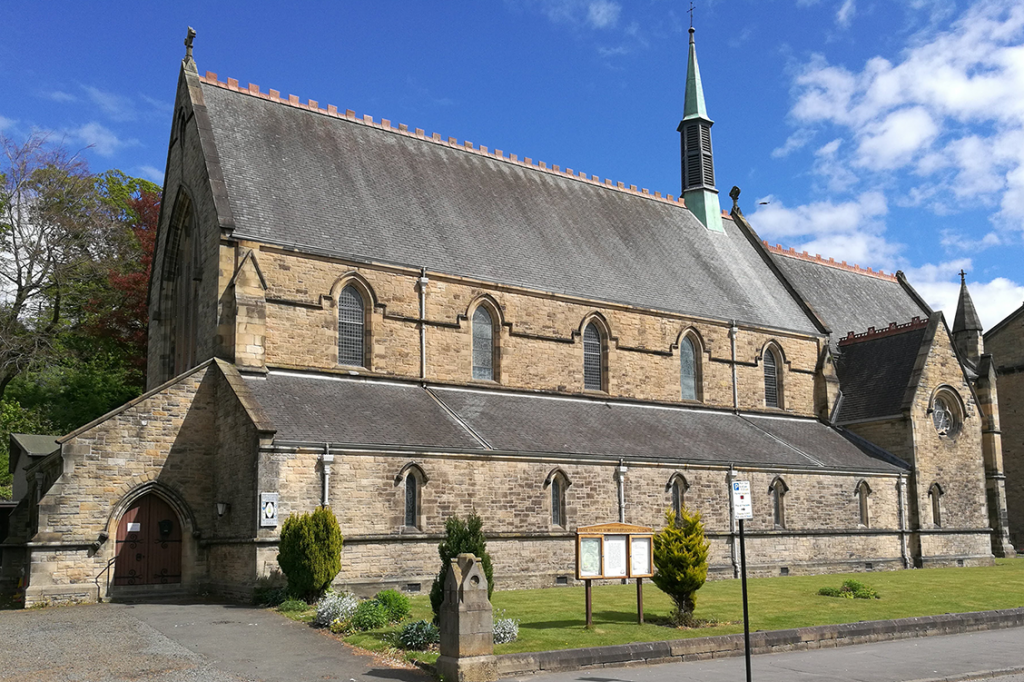 Holy Trinity Church from the south west